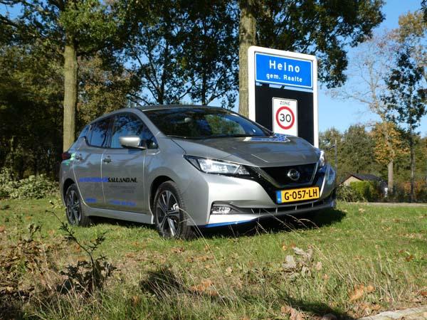 Nissan leaf huurauro Heino